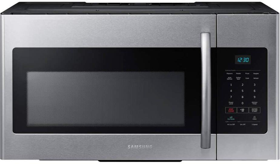 Samsung ME16H702SES 1.6 Cu. Ft. 1000W Over-the-Range Microwave
