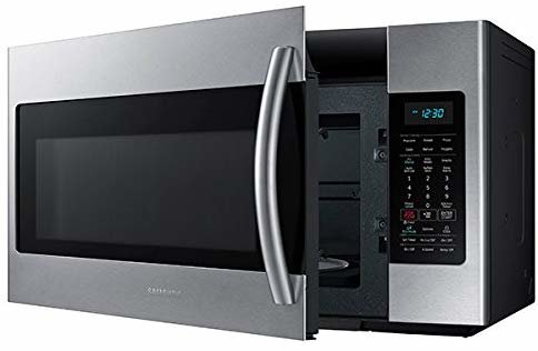 Samsung ME18H704SFS 1.8 Cu. Ft. 1000W Over the Range Microwave