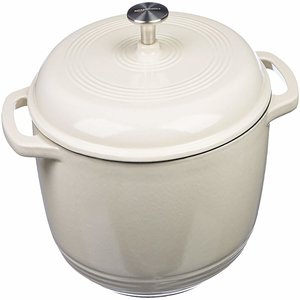 Amazon Basics Enameled Cast Iron Dutch Oven