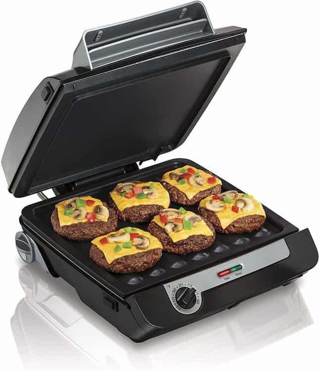 Hamilton Beach 25601 Indoor Grill & Electric Griddle