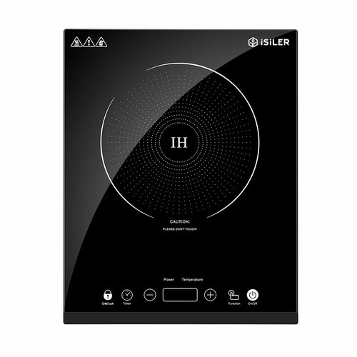 Portable Induction Cooktop iSiLER 1800W Sensor Touch Electric Induction Cooker Cooktop