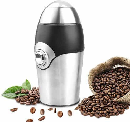 HoLead Electric Coffee Grinder Blade Mill