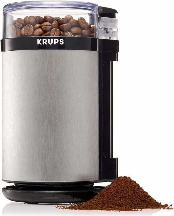 KRUPS GX4100 Electric Spice Herbs and Coffee Grinder