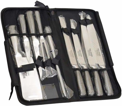 Ross Henery Professional Eclipse Premium stainless Steel 9 piece chef's knife set
