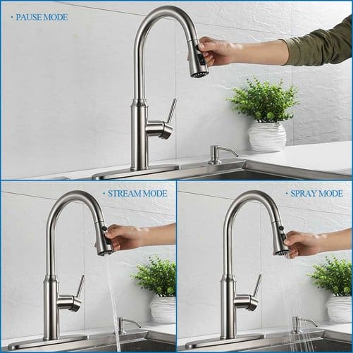 Kitchen Faucet Pull Down-Arofa A01LY