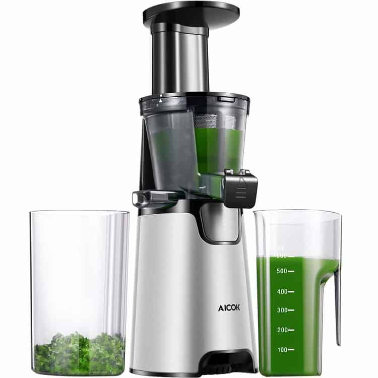 Aicok Juicer Auger Slow Masticating Juicer