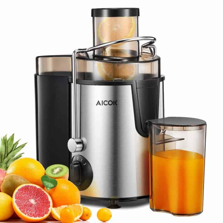 Juicer Aicok Juice Extractor with Wide Mouth