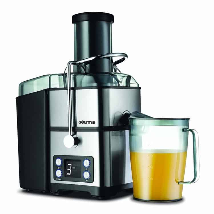 Gourmia GJ1350 Stainless Steel Wide Mouth Juicer