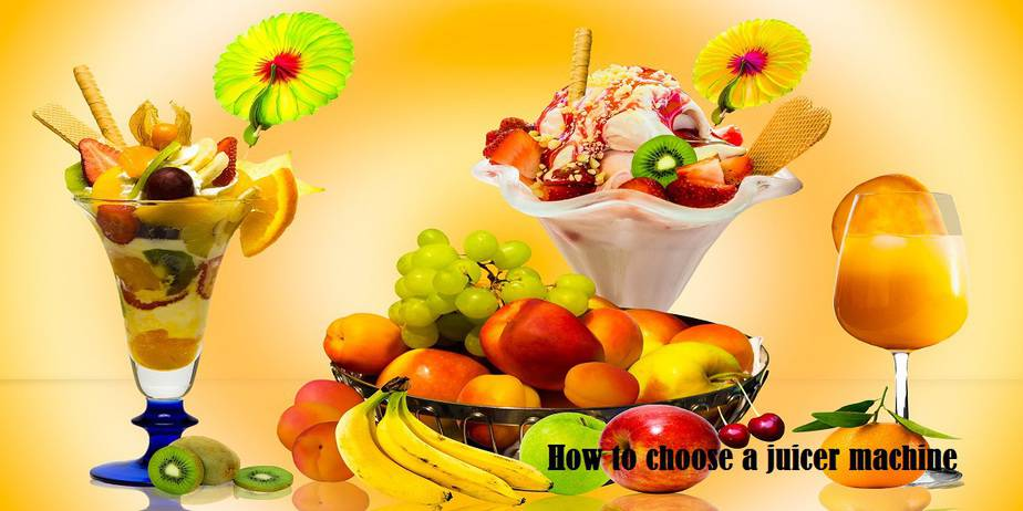 how to choose a juicer machine