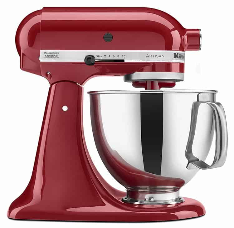Kitchen Aid KSM150PSER Artisan Tilt-Head Stand Mixer