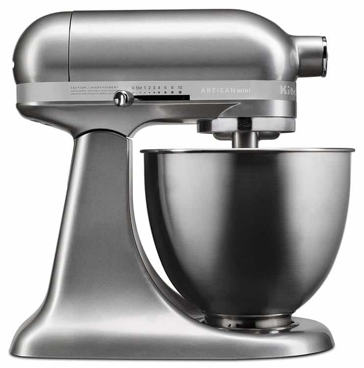 KitchenAid KSM3311XCU Artisan Mini-Series Tilt-Head Stand Mixer