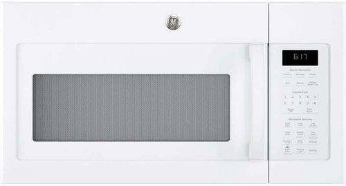 GE 1.7 Cu. Ft. White Over-The-Range Microwave Oven