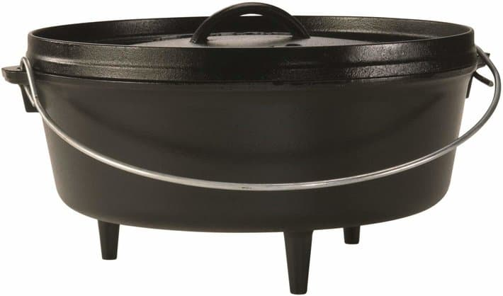 Lodge 6 Quart Camp Dutch Oven