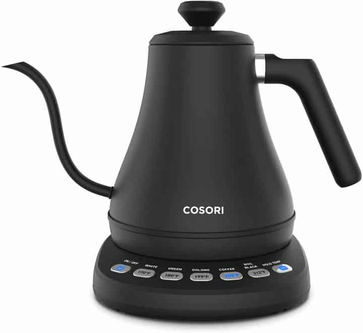 COSORI Electric Gooseneck Kettle with 5 Variable Presets