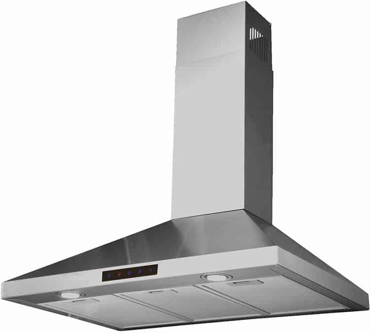 Kitchen Bath Collection 30-inch Wall-mounted Stainless Steel Range Hood with Touch Screen