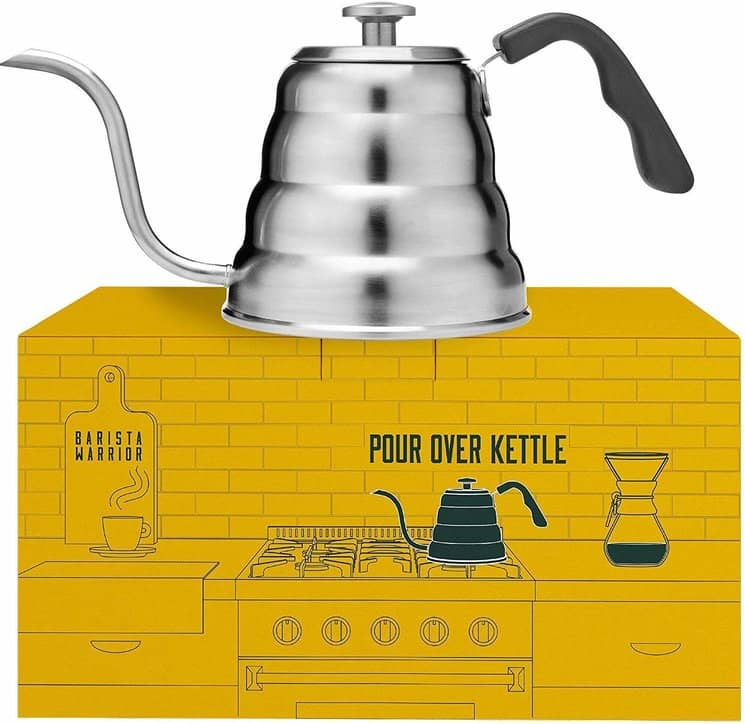 Pour Over Kettle with Thermometer
