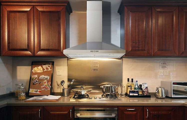 Winflo New 30 Inc Convertible Stainless Steel Wall Mount Range Hood