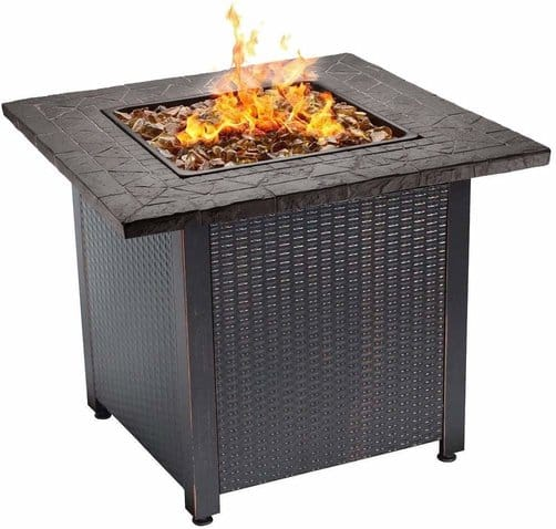 Endless Summer, GAD1401G LP Gas Outdoor Fire Table, Multicolor