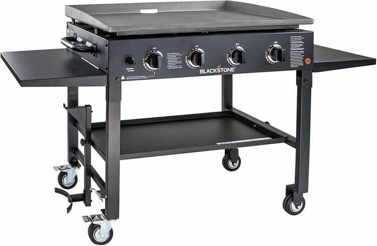Blackstone 1554 Station-4-burner-Propane Fueled-Restaurant Grade-Professional 36 inch Outdoor