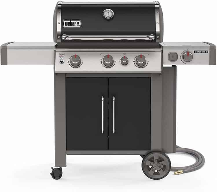Weber 66016001 Genesis II E-335 3-Burner Natural Gas Grill