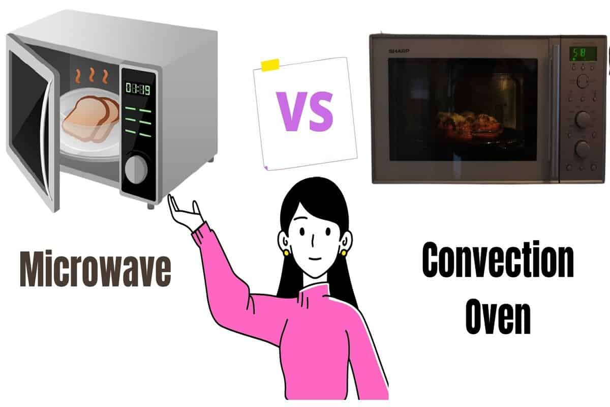 difference between microwave and convection oven