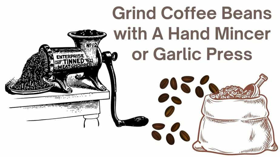 grind_coffee_beans_with_a_hand_mincer_or_garlic_press